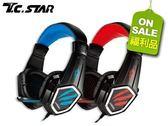 【T.C.STAR】電競頭戴式耳機麥克風TCE9000(福利品)