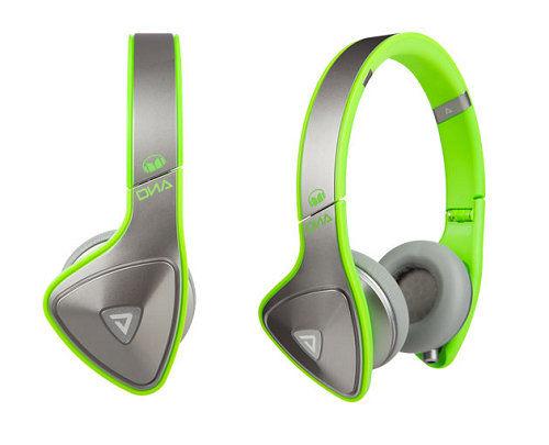 美國 MONSTER DNA ON-EAR (螢光綠) 耳罩式耳機
