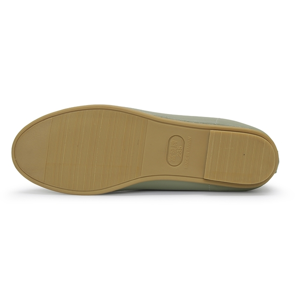 【富發牌】皮質素色平底娃娃鞋-白/藍/綠/杏 1BL134