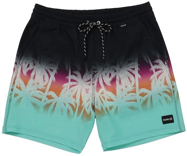 Hurley M PHTM LA PLAYA VOLLEY BLACK 海灘褲-PHANTOM (男)