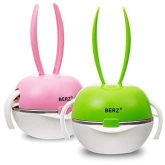 EXPECT BERZ 彩虹兔五合一餐具組