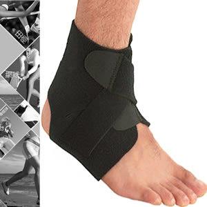魔鬼氈八字纏繞式護腳踝.綁帶繃帶護踝束帶束套.固定護足踝保護套踝套.可調整運動防護具保護套