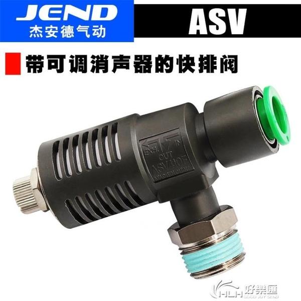 ASV310F-01-06S快速排氣節流閥ASV410F-02-08S/ASV510F 好樂匯