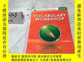 二手書博民逛書店英文原版:VOCABULARY罕見WORKSHOP(LEVEL E)Y182979 出版2012