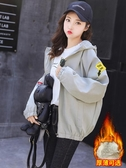 外套女生春秋裝新款初中高中學生韓版寬鬆百搭初秋上衣棒球服春季新品