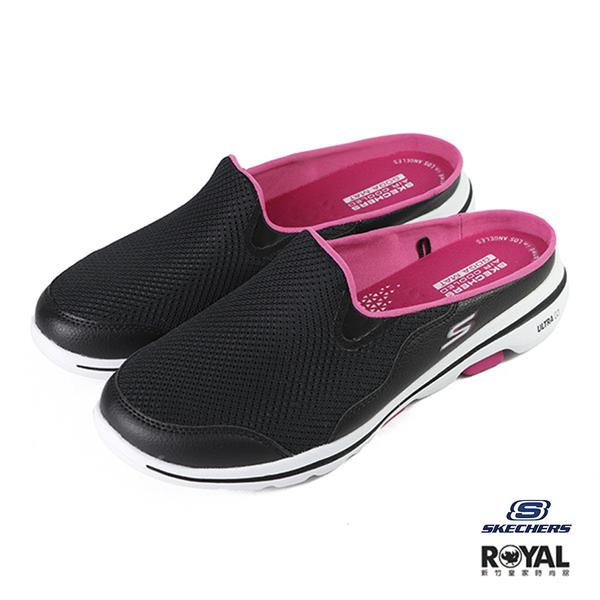 Skechers On walk 黑色 網布 運動健走鞋 女款 NO.J0398【新竹皇家 124023BKHP】