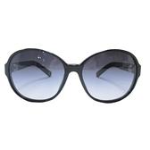 CHANEL 香奈兒 黑色側邊鑲珍珠太陽眼鏡 【二手名牌BRAND OFF】