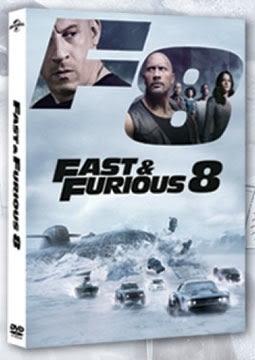 玩命關頭8 DVD The Fast and the Furious 8 免運 (購潮8)