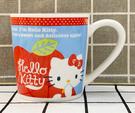 【震撼精品百貨】Hello Kitty 凱蒂貓~馬克杯-藍蘋果*35736