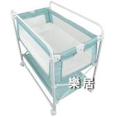 尿布台 兒童床可折疊調高低新生床邊床中床多功能護理台JY【快速出貨】