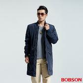 BOBSON 男款長版鋪棉棒球外套 (35049-53)