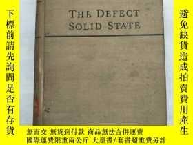 二手書博民逛書店the罕見defect solid state(H1146)Y1