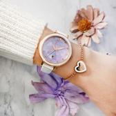 RELAX TIME 極光系列Aurora 陶瓷女錶-浪漫紫/35mm RT-92-3