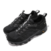 Merrell 戶外鞋 Moab FST 2 GTX 黑 灰 女鞋 Gore-Tex 防水 透氣 越野 休閒鞋 運動鞋 【ACS】 ML599532