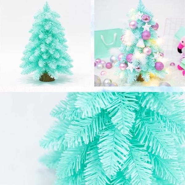 聖誕樹 櫻花漸變45CM迷你粉色花環裝飾粉色藤條mini桌面擺件 - 雙十一熱銷