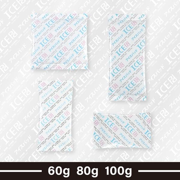 【現貨】ICE Pad食品保冷劑 60 80 100公克 重複使用 保冰 冷藏 冷凍 食材保鮮 瑞士捲