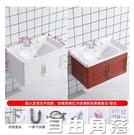 太空鋁浴室櫃組合衛生間面盆小戶型現代簡約洗臉盆櫃洗漱台洗臉盆CY  自由角落