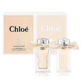 Chloe Les Mini  Chloe 小小雙氛緞帶限量禮盒  (同名20ml+玫瑰之心20ml) *10點半美妝館*
