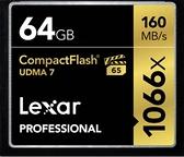 【聖影數位】 Lexar 雷克沙 Professional CF 64Gb 1066X 讀160MB/s 寫155MB/s 公司貨