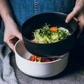 湯碗家用餐具法海缽碗啞光沙拉碗水果碗【極簡生活館】