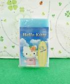 【震撼精品百貨】Hello Kitty 凱蒂貓~橡皮擦-藍滑板
