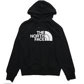 THE NORTH FACE 北臉 帽T 黑 白刺繡 大LOGO 休閒 男(布魯克林) NF0A4NEQJK3