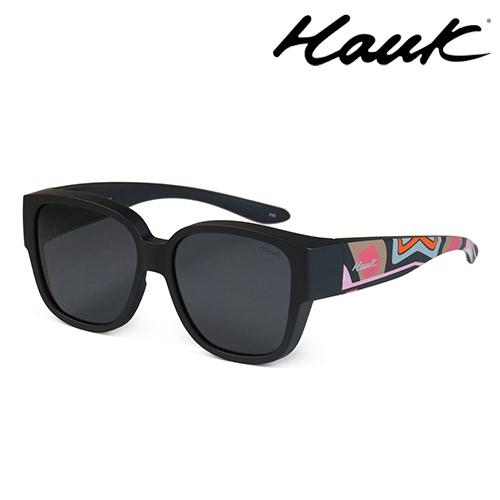 HAWK 新型薄框偏光太陽眼鏡套鏡(2用)HK1026-91