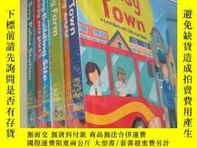 二手書博民逛書店Ladybird罕見Busy Zoo Town Airport