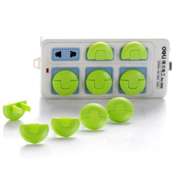 [超豐國際]兒童防觸電保護蓋電源插孔安全塞 寶寶防電插座插頭防護