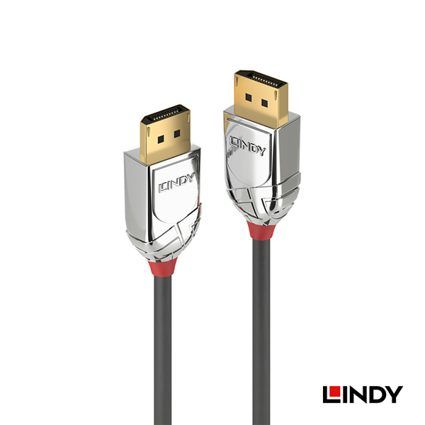 林帝LINDY CROMO LINE DisplayPort 1.4版 公 to 公 傳輸線 1m (36301)