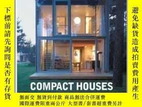 二手書博民逛書店罕見二手!Compact Houses : Architectu