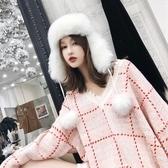 冬天毛帽子飛機帽雷鋒帽女冬季護耳加厚保暖帽 萬客居