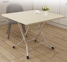折疊桌 簡易餐桌家用小方桌地攤飯桌出租房小戶型正方形桌子麻將桌TW【快速出貨八折搶購】