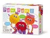 【4M 】美勞創作系列波波毛球家族Make Your Own Pom Poms 00 04
