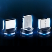 圓磁系列磁吸轉接頭 Micro USB iPhone Type-C 磁力充電線專用轉接頭 磁力線頭 磁充線頭