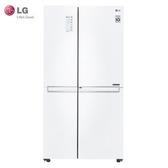 【天天限時 送無線吸塵器】LG 樂金 GR-DL88W 821公升 WiFi門中門對開冰箱 晶鑽白