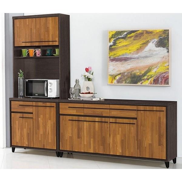 櫥櫃 餐櫃 QW-826-2 川普7.6尺餐櫃(全組)【大眾家居舘】