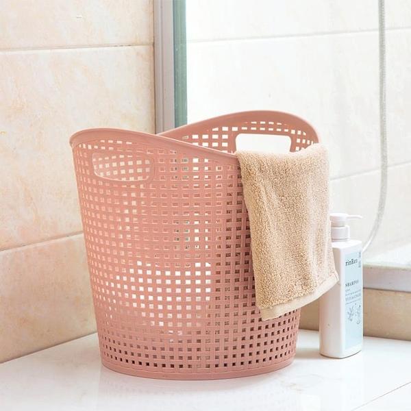 塑膠髒衣籃浴室洗衣籃髒衣簍玩具衣物收納籃收納筐樂淘淘