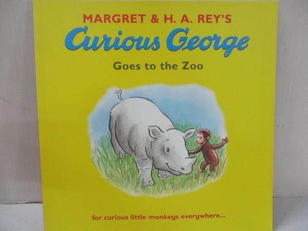 【書寶二手書T1/少年童書_CD1】Curious George Goes to the Zoo