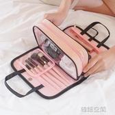 便攜化妝包大容量手拿收納包韓國簡約防水旅行洗漱包手提化妝品包 韓語空間