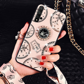華為 nova 5T 手機殼 nova5T 時尚 全包軟邊 掛繩 支架 指環防摔 保護殼 保護套 手機套 創意指環