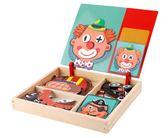 益智拼圖磁性拼圖幼兒童益智玩具1-3-6周歲男女孩2寶寶4早教5拼樂智力開發 免運 宜品