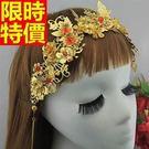 髮箍頭飾保暖典雅-古典氣質皇冠新娘配備女飾品13款65w2【巴黎精品】