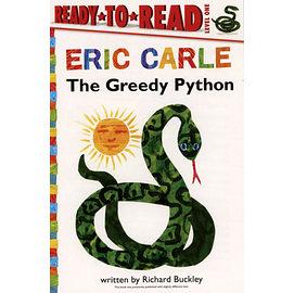 【麥克書店】《ERIC CARLE經典繪本讀本版》THE GREEDY PYTHON /L1
