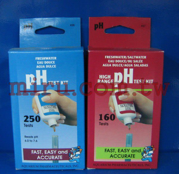 【西高地水族坊】美國魚博士API 海水酸鹼值PH測試劑