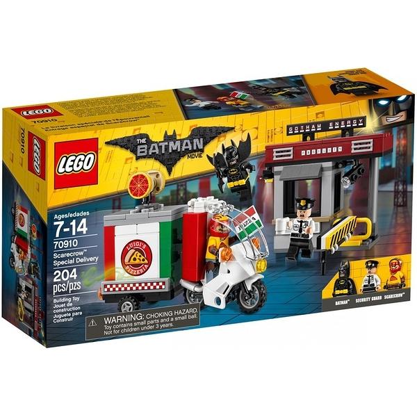 LEGO 樂高 超級英雄系列 Scarecrow Special Delivery 稻草人的披薩外賣車 70910