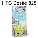 迪士尼空壓透明軟殼 [主題] 怪獸大學 Desire 825 / Desire 10 Lifestyle【Disney正版授權】