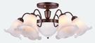 燈飾燈具【燈王的店】古典風系列 半吸燈6+2燈 客廳燈 房間燈 主燈 PP塑料罩 TY-76-3P