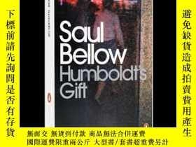 二手書博民逛書店英文原版罕見索爾·貝婁:洪堡的禮物 諾貝爾文學獎得主 Saul Bellow: Humboldt s Gift