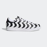 Adidas Stan Smith W [H05757] 女鞋 運動 休閒 聯名 藝術印花 簡約 穿搭 愛迪達 白 黑